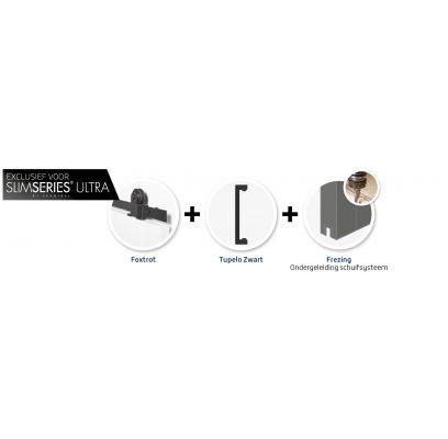 Hang- en sluitwerkpakket 550 MAT ZWART