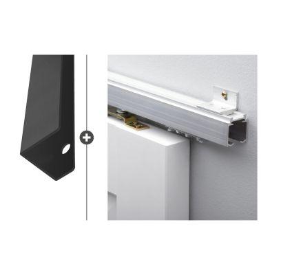 Hang- en sluitwerkpakket 540 MAT ZWART