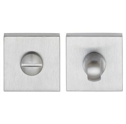 Toiletgarnituur Clarke square CHROOM / MAT CHROOM