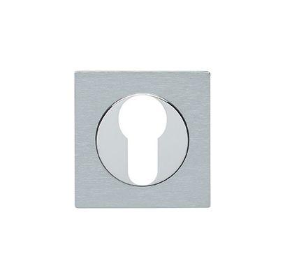 Cilinderrozet Quastro CHROOM / MAT CHROOM