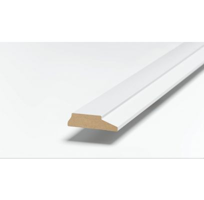 Architraaf SKA 25 ZUIVER WIT (RAL 9010) 2500 x 62 x 15 mm