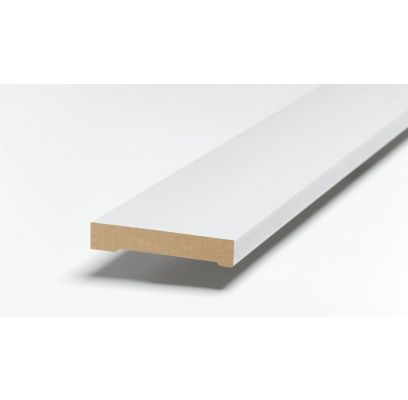 Architraaf SKA 33 ZUIVER WIT (RAL 9010) 2500 x 91 x 15 mm