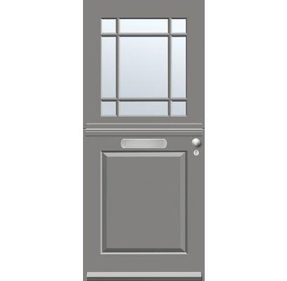 SKM 447 ISO blank glas met plakroedes