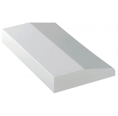 Plintneut SKP 34 ZUIVER WIT (RAL 9010) 220 x 125 mm
