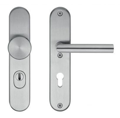 Hang- en sluitwerkpakket 42 sleutelbediend 231 R4 RVS