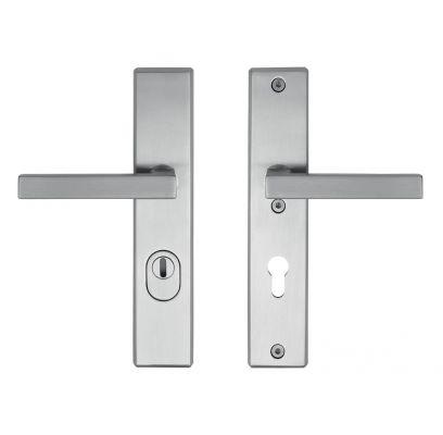 Hang- en sluitwerkpakket 43 sleutelbediend 201/211 R4 RVS