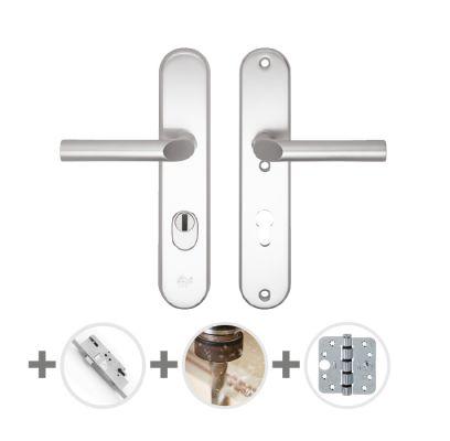 Hang- en sluitwerkpakket 31 sleutelbediend 201/211 L3 ALUMINIUM
