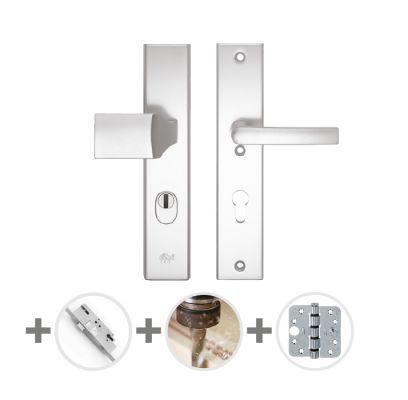 Hang- en sluitwerkpakket 32 sleutelbediend 231 L3 ALUMINIUM