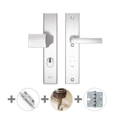 Hang- en sluitwerkpakket 32 sleutelbediend 231 R4 ALUMINIUM