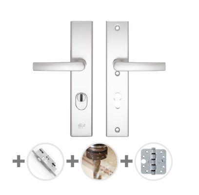 Hang- en sluitwerkpakket 33 sleutelbediend 201/211 R4 ALUMINIUM