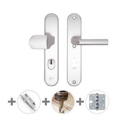 Hang- en sluitwerkpakket 34 sleutelbediend 201/211 R4 ALUMINIUM