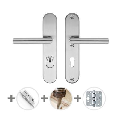Hang- en sluitwerkpakket 40 sleutelbediend 231 L1 RVS