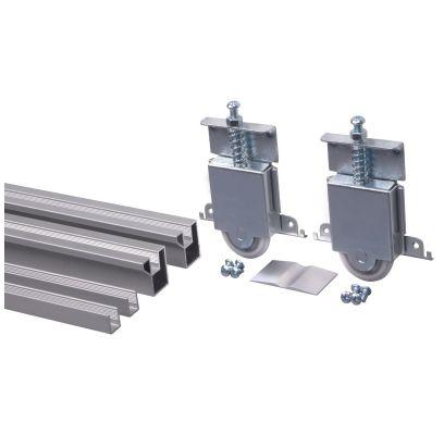 Aluminium railsysteempakket R60 ALUMINIUM