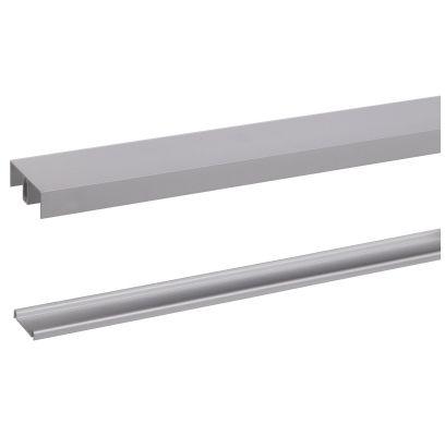 Aluminium rail R20 240cm ALUMINIUM