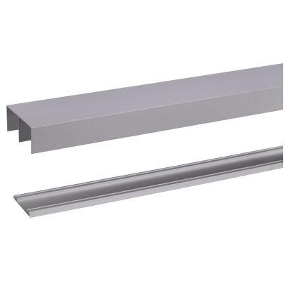 Aluminium rail R40-60 360cm ALUMINIUM