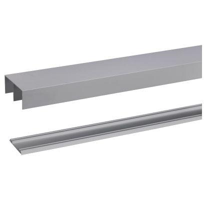 Aluminium rail R40 240cm ALUMINIUM