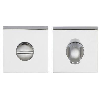 Toiletgarnituur Clarke square CHROOM