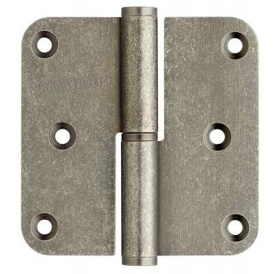 Paumellescharnier 76x76 mm old silver