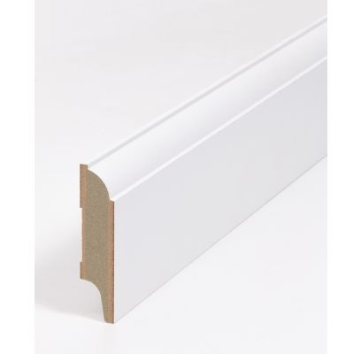 Sierplint SKP 12 ZUIVER WIT (RAL 9010) 2440 x 79 x 18 mm