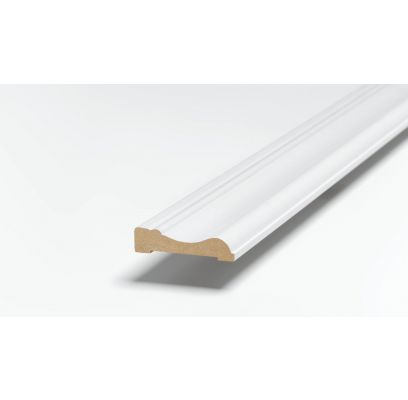 Architraaf SKA 29 ZUIVER WIT (RAL 9010) 2500 x 62 x 15 mm