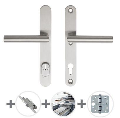 Hang- en sluitwerkpakket 50 sleutelbediend 231 R4 RVS