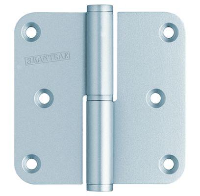 Paumellescharnier 76x76 mm mat chroom