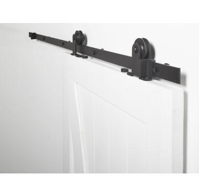 Schuifdeursysteem Foxtrot MAT ZWART 2 meter
