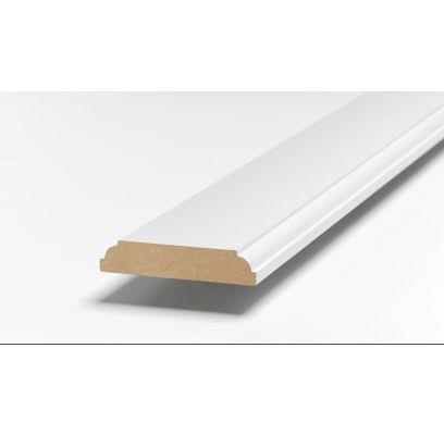 Architraaf SKA 34 ZUIVER WIT (RAL 9010) 2500 x 91 x 15 mm