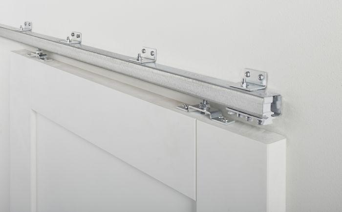Binnen Schuifdeur Systeem.Schuifdeursysteem Oscar Aluminium 2 Meter Skantrae Deuren