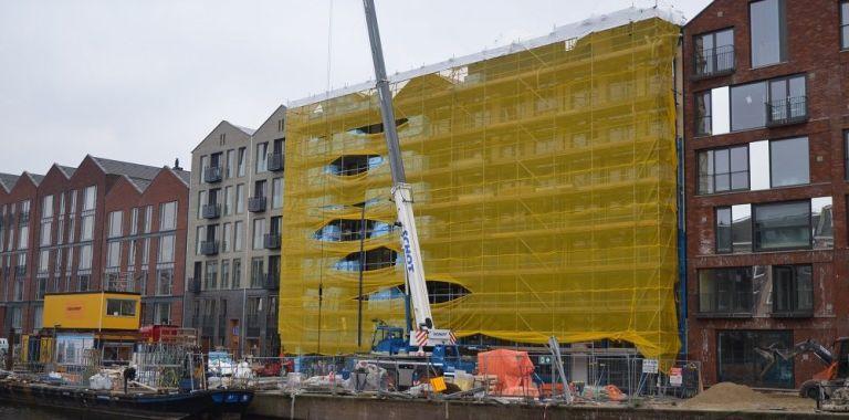 Skantrae Cube X deuren geleverd en gemonteerd voor project 'De Hallen' Amsterdam