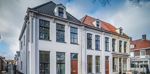 Historische panden met nieuwe Skantrae deuren in Harderwijk