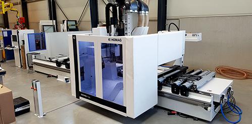Skantrae bewerkingscentrum uitgebreid met tweede Homag CNC freesmachine