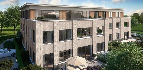 Nieuw appartementencomplex Bloemendaal kiest luxe Skantrae deuren