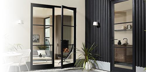 Skantrae introduceert nieuwe buitendeur met industriële look