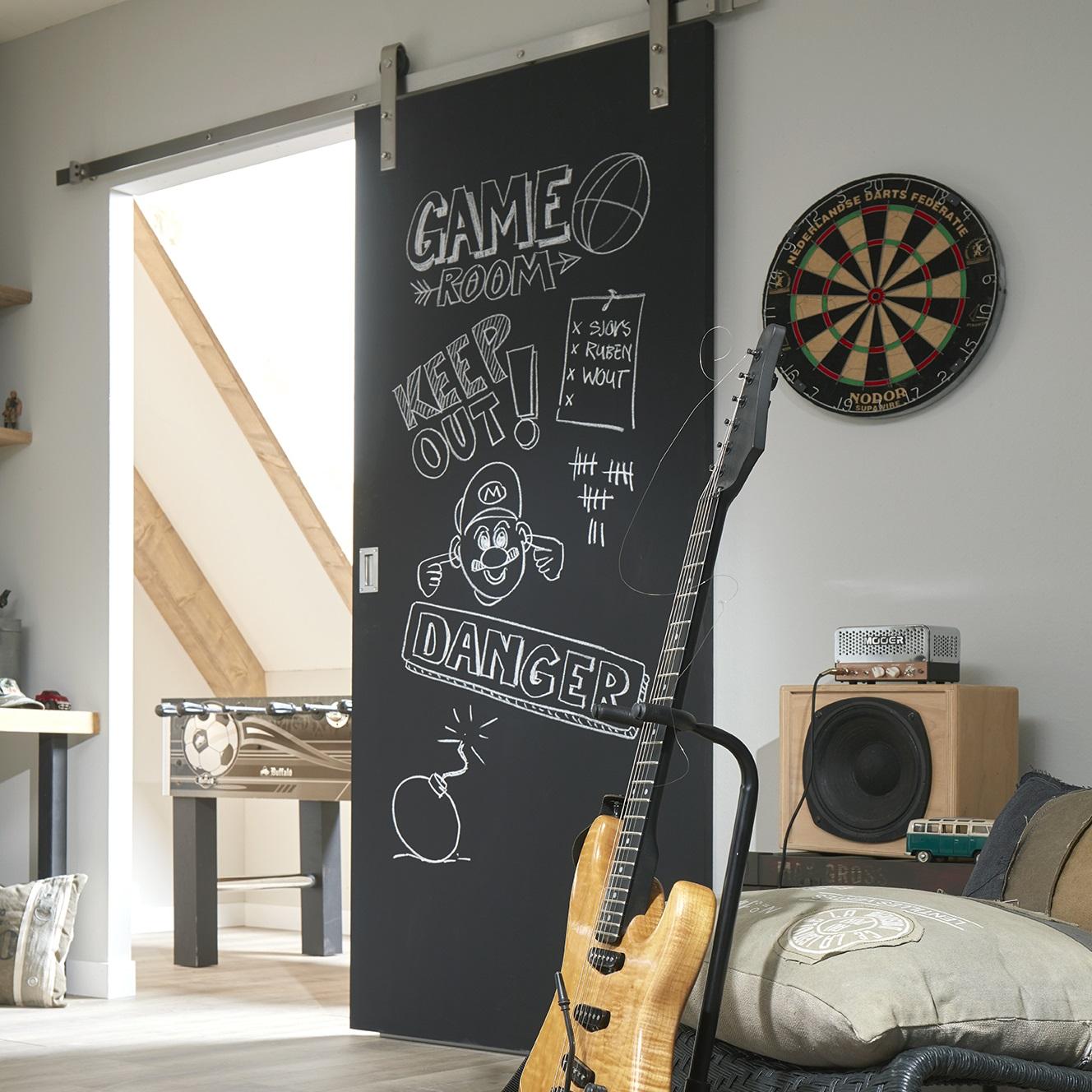 Board vlak Binnendeuren