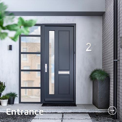 Entrance buitendeuren
